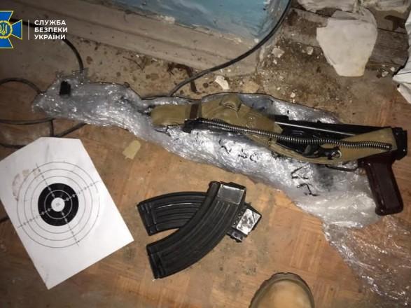 Схрон зі зброєю та вибухівкою виявили в Академії аграрних наук